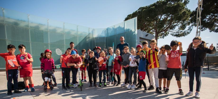 Espace public Jean-Gioan, c'est la fête du sport tous les mercredis.