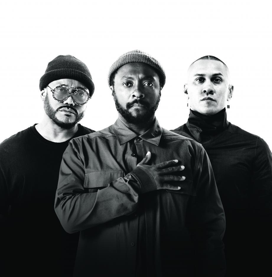 Apl.de.ap, Will.i.am et Taboo, le retour des trois musiciens du Black Eyed Peas d'origine.(DR)