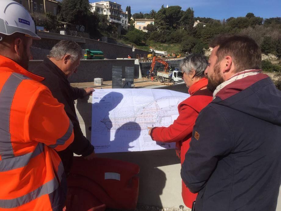 114 places de parking vont être rendues disponibles. La fin du chantier est prévue pour mai.