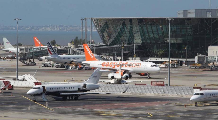 Illustration Aéroport de Nice.