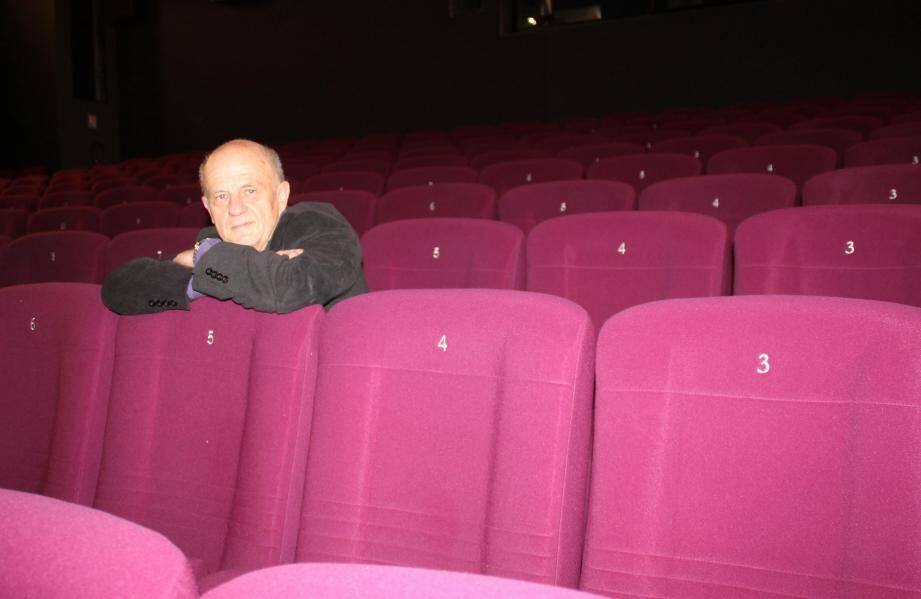 Bernard Tourre au cinéma Le Studio où se déroulait le festival Les toutes premières fois.