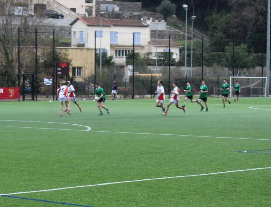Pour la première fois, les Biotois ont remporté leur tournoi de football gaélique.