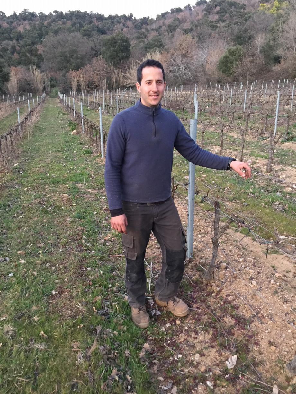 Anthony Sénéquier, président des Jeunes agriculteurs du Var souhaite que certaines zones boisées soient rendues à l'agriculture.