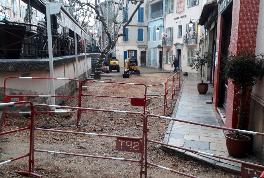 La place Jean-Jaurès sera bientôt à nouveau accessible aux piétons.