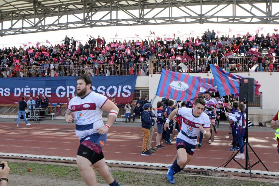 Les Grassois ont araché le derby face à  Nice avec un coeur gros comme ça !