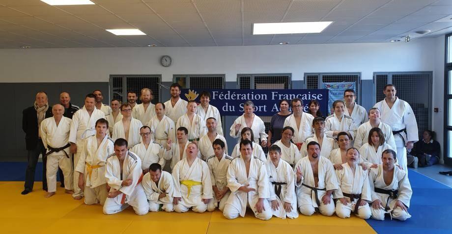 Les sportifs sont venus en découdre sur les tatamis pierrefeucains pour décrocher leur sélection au championnat de France de judo adapté.