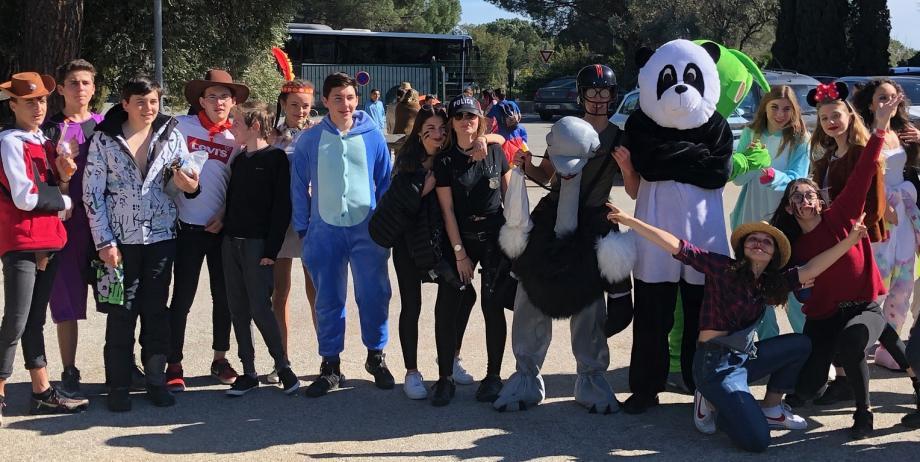 Les élèves de 3e1 du collège de l'Assomption (Cogolin et Sainte-Maxime) ont participé hier à une course solidaire.