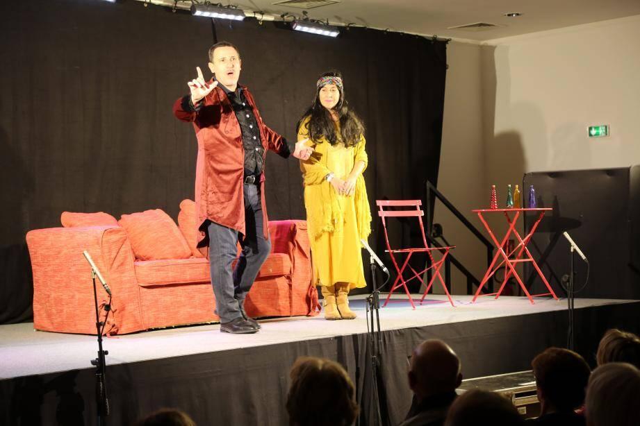 L'Espace culturel avait affiché complet en décembre dernier pour la pièce Une envie folle. Il devrait en être de même ce soir pour Le bon, la bru et la vieille bique.(Repro DR)