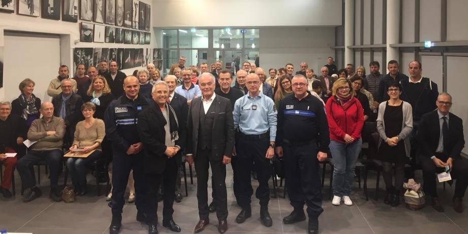 Les représentants des 61 chaînes de vigilance ont assisté à cette réunion annuelle.