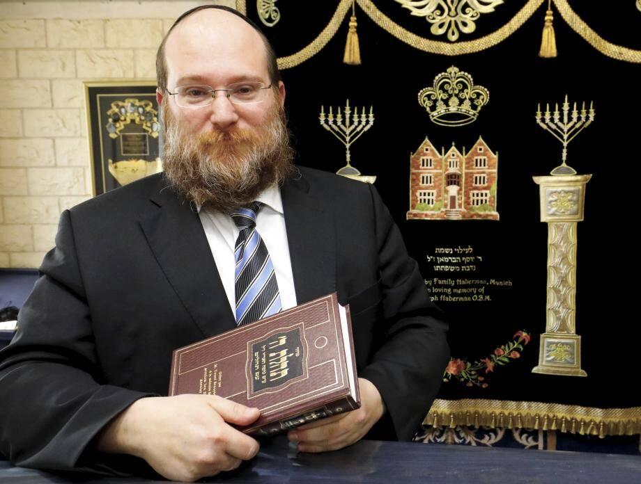 Mendel Matusof préside l'association cultuelle du judaïsme du bassin cannois.