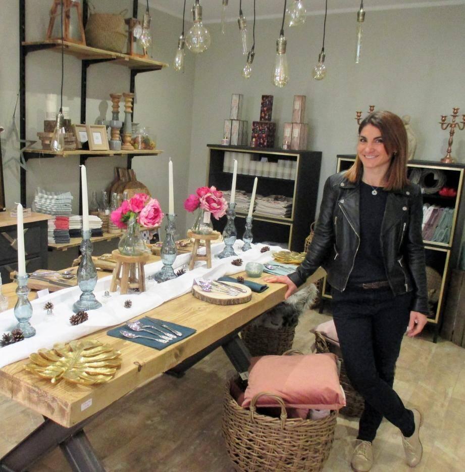Caroline Dalmasso a choisi d'appeler sa boutique « Madame Honorine » en l'honneur de sa grand-mère.