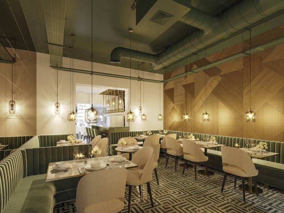 L'atmosphère du lieu reprend des codes urbains avec une progression depuis la partie boutique jusqu'à la salle de restaurant.(Visuels DR)