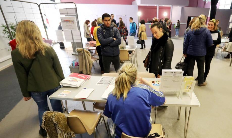 Jeunes ou moins jeunes, à la recherche d'un premier emploi ou d'une formation, adultes en reconversion... le forum s'adressait à tous les publics.