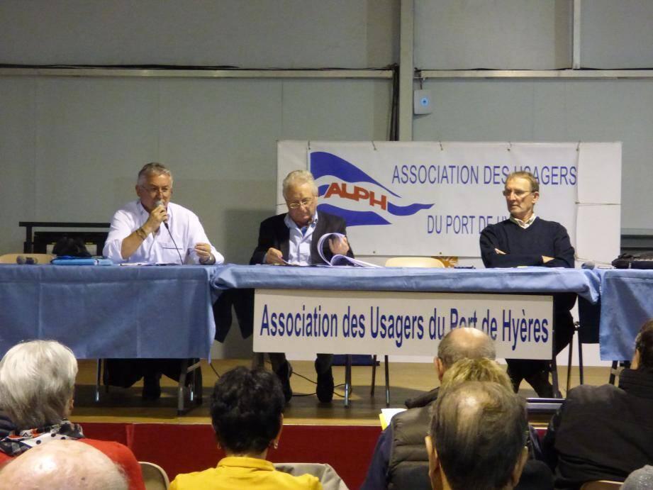 L'assemblée générale de l'association des usagers du port d'Hyères a eu lieu jeudi soir à La Vilette.