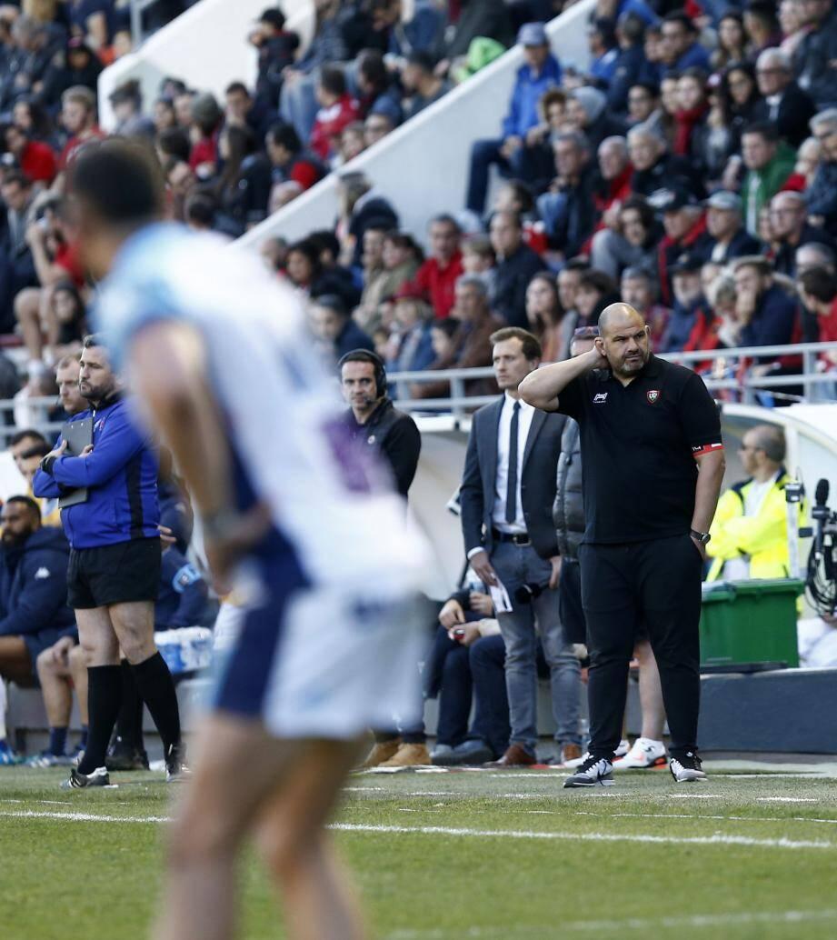 Patrice Collazo regrette l'inconstance de ses joueurs, capables de bousculer leurs adversaires puis de se coucher en suivant...