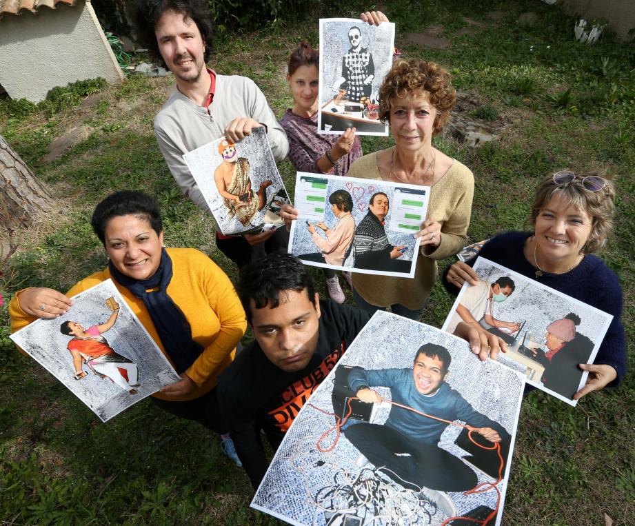 Les membres d'Isatis exposent du 19 au 29 mars et organisent un café psy jeudi 21.