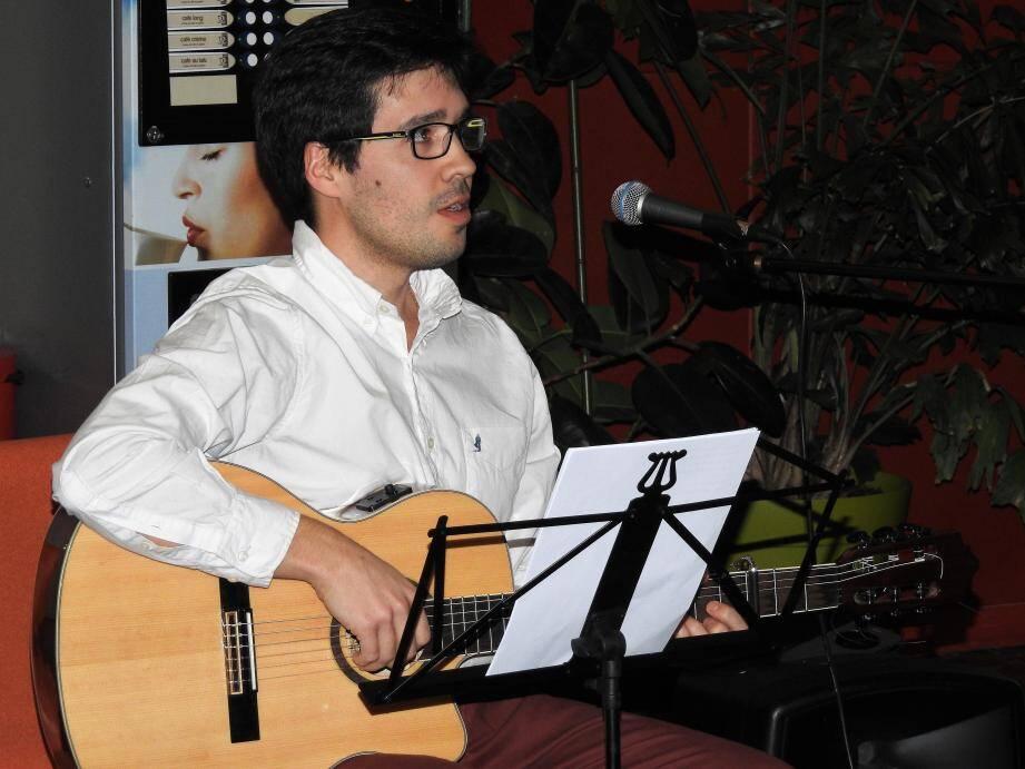 La voix de Matias Miceli a séduit le public.