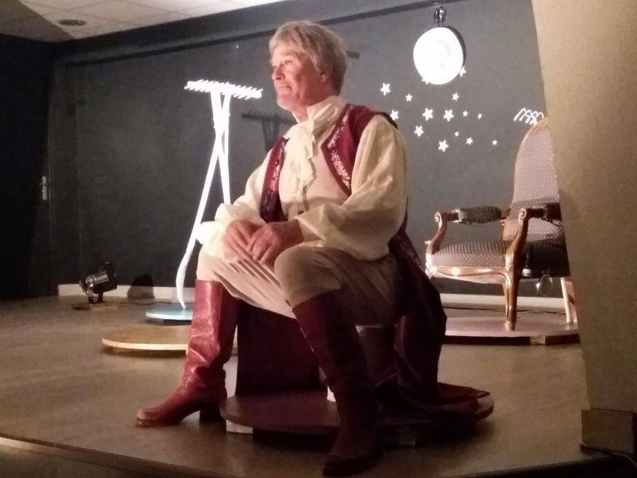 Brillante performance pour Bernard Damien, seul en scène.