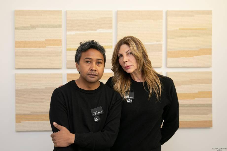 Rita Caltagirone présente le travail de l'artiste Joël Andrianomearisoa jusqu'au 12 juillet.