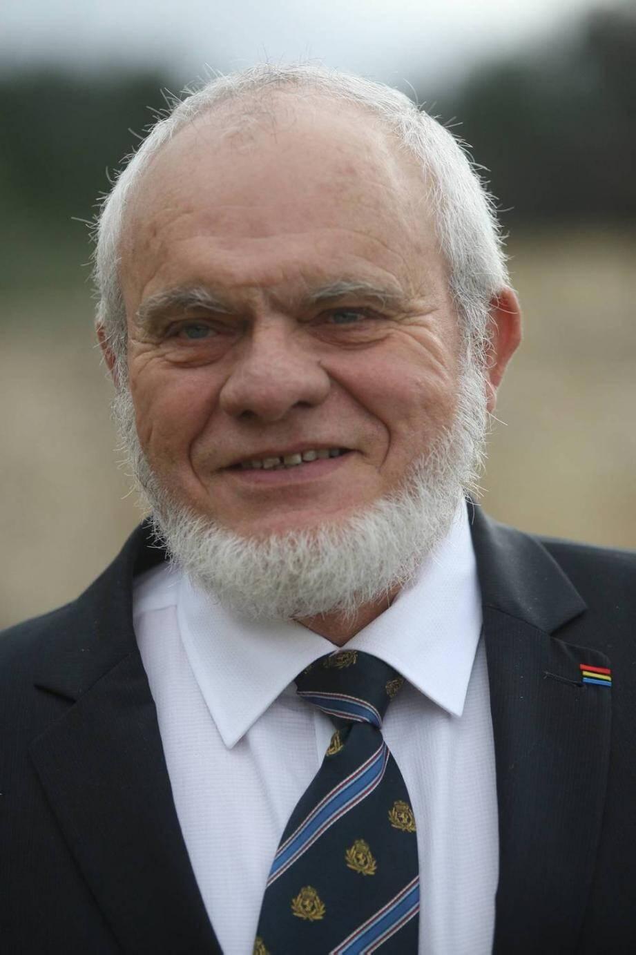 Le président Daniel Alsters.