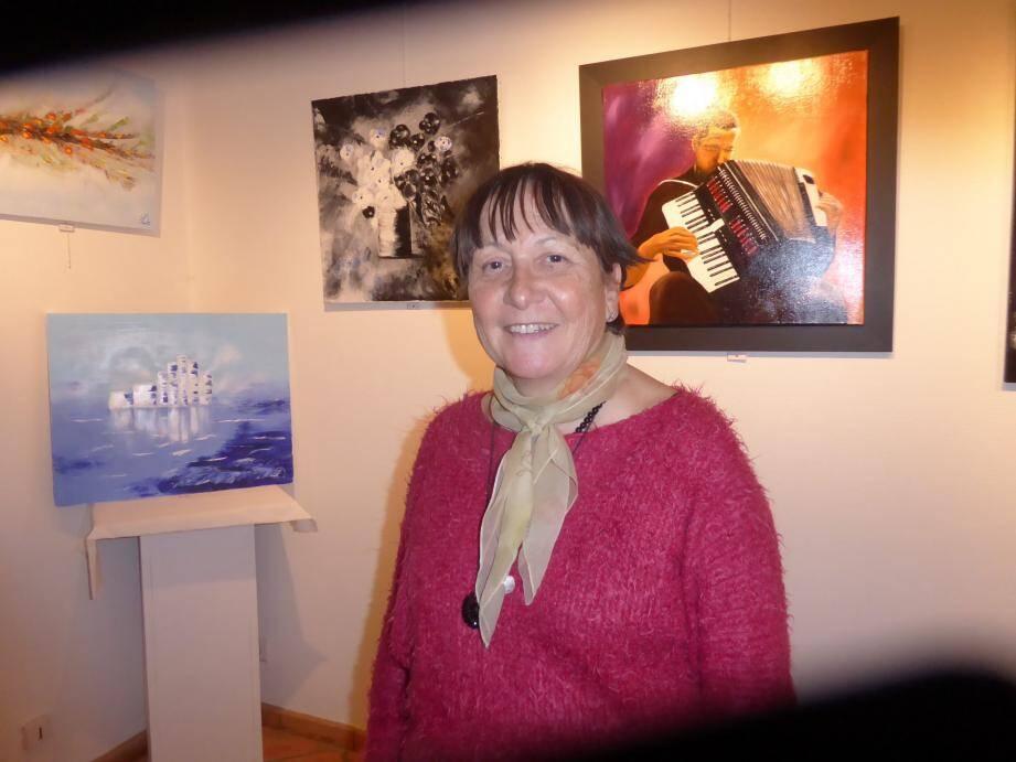Dominique Nancey expose jusqu'au 22 mars, salle Agosta.