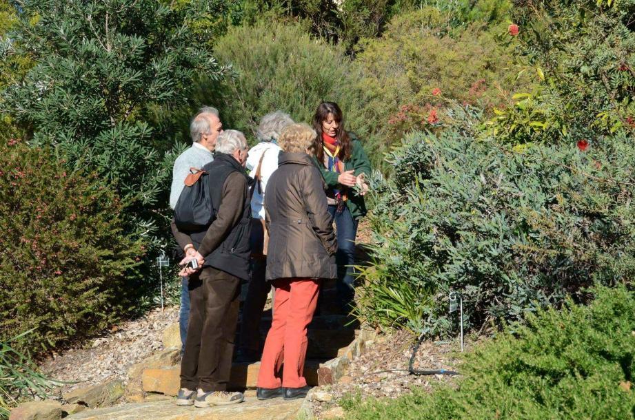 Une visite guidée du parc Gonzalez, labélisé jardin remarquable, est organisée chaque mardi matin.