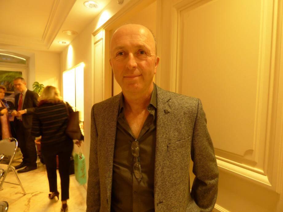 Thierry Gobino, à la sortie du conseil lundi soir.