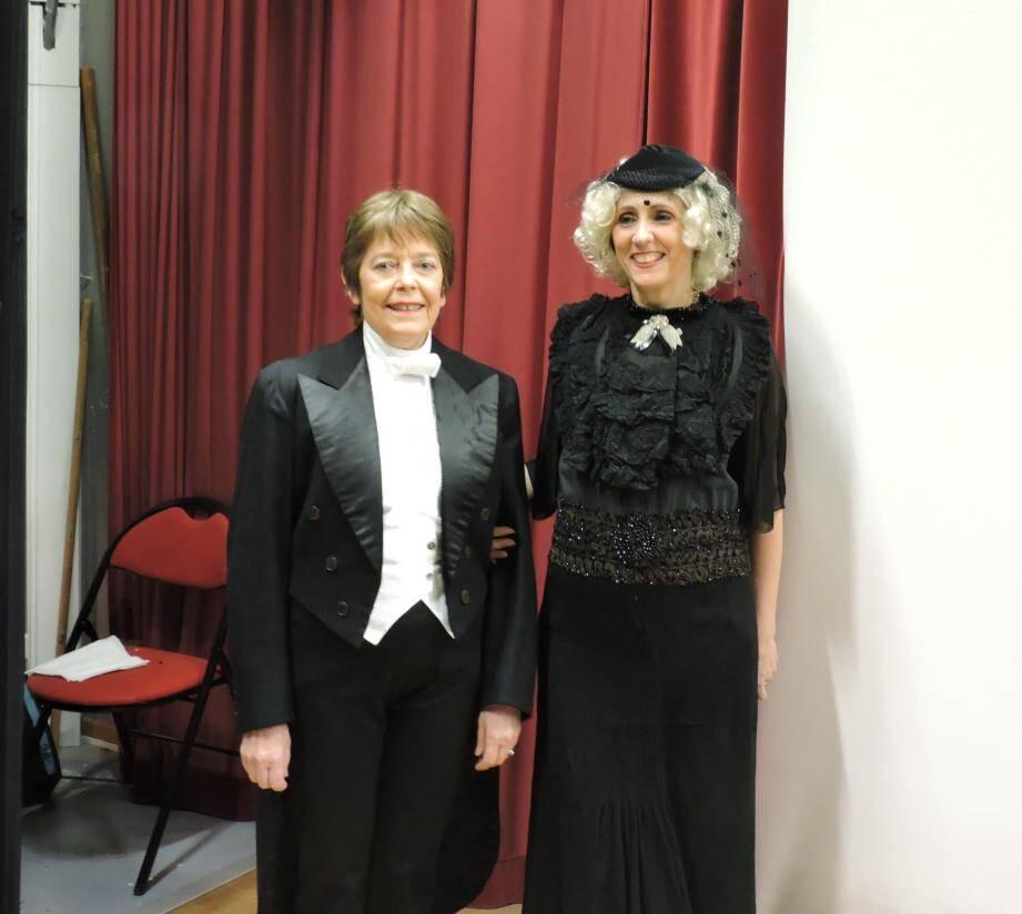 Séverine et Isabelle ont interprété du Cocteau et réveillé l'âme de Michel Delhaye.