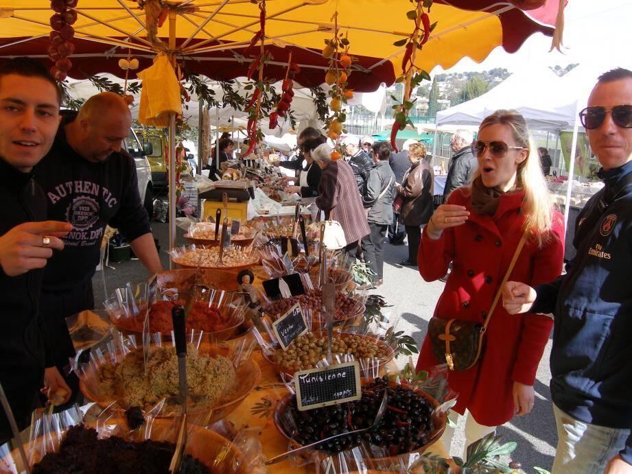 70 exposants de produits locaux seront présents à la fête ce samedi toujours au même endroit : l'avenue Maurice-Jeanpierre.