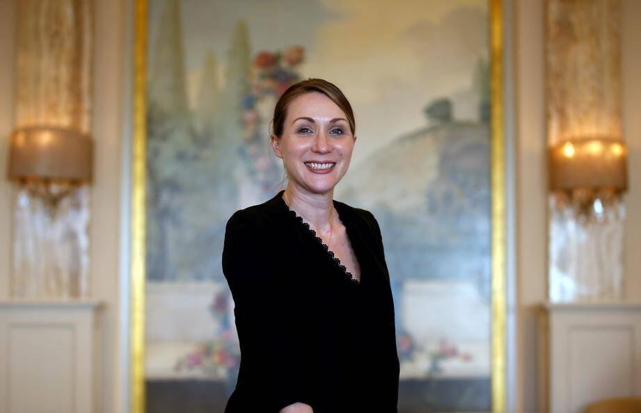 Claire Sonnet, directrice de salle du Louis XV depuis décembre dernier.