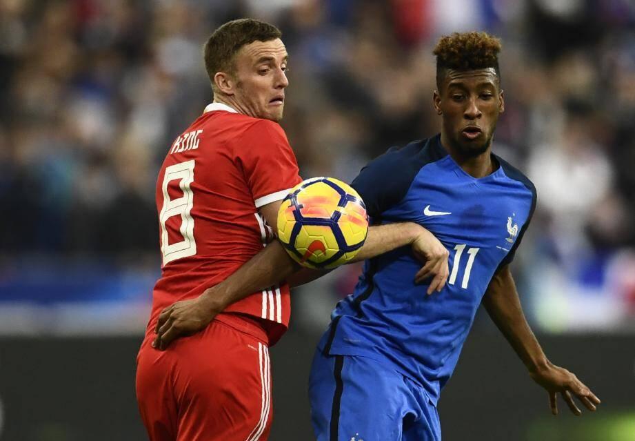 L'attaquant du Bayern Munich n'a plus porté le maillot Bleu depuis le 10 novembre 2017, soir de victoire face aux Gallois (2-0) en amical.