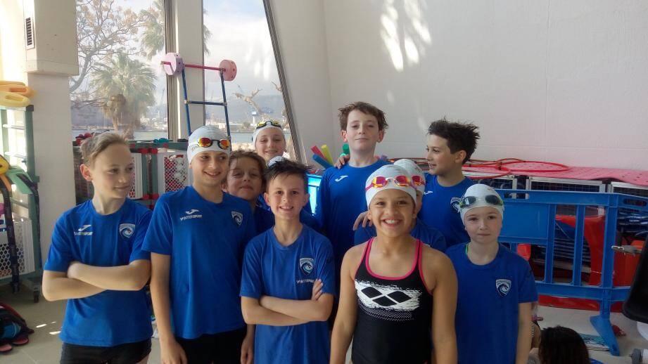 La délégation du Cercle des nageurs dracénois brillante à Toulon.