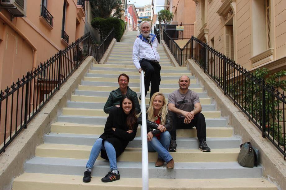 La « Green Team » participera aux courses relais de la Course des escaliers. 458 marches à gravir pour ces éco-salariés défenseurs de la cause verte auprès de leurs collègues de la mairie.