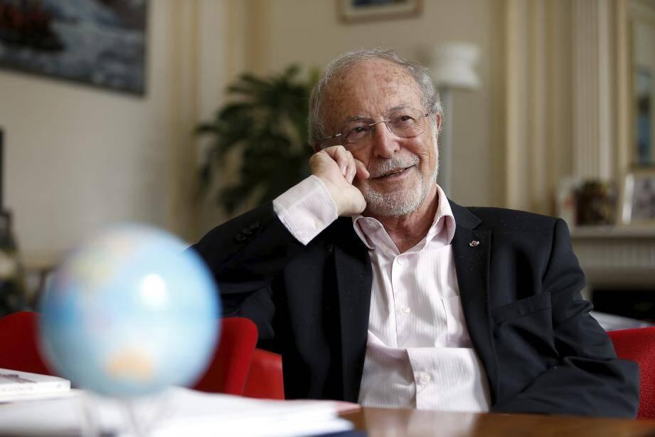 Bernard Fautrier, vice-président de la Fondation Prince Albert II.