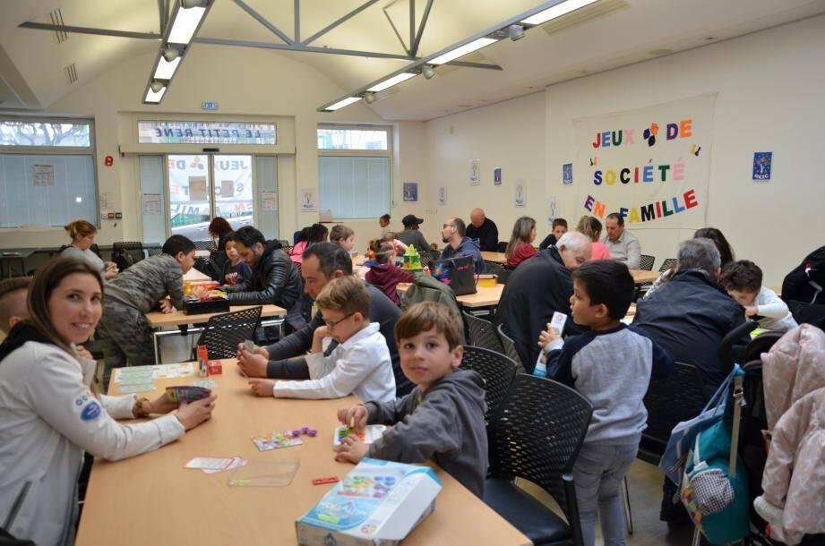 Les jeux se sont déroulés en deux temps de deux heures chacun, afin de favoriser une bonne ambiance en petits groupes.
