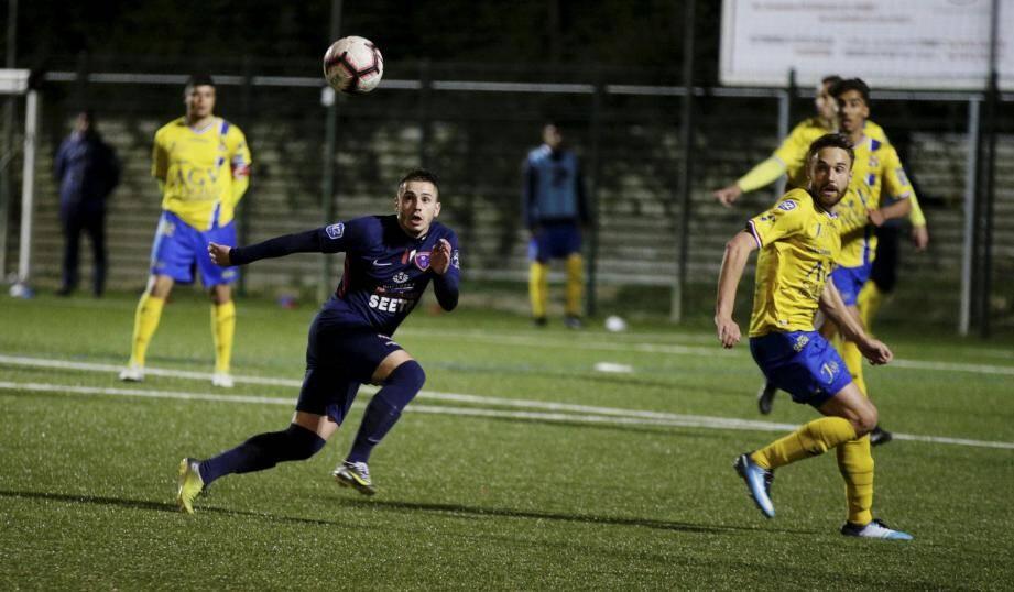 Malatini et les siens ont tout tenté pour revenir à hauteur du Sporting en fin de match.