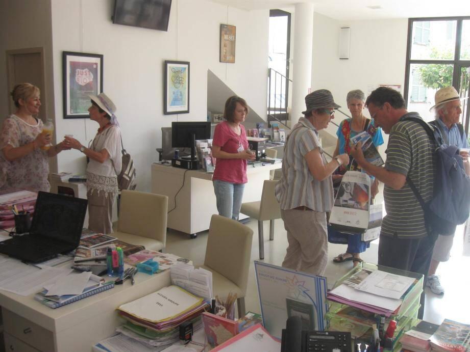 Plus de 11500 étrangers ont été accueillies à l'office du tourisme de Biot en 2018.