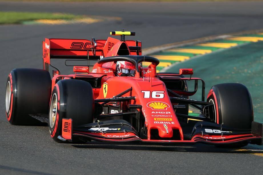 Le Monégasque Charles Leclec était deçu de sa 5e place sur la grille de départ du Grand Prix d'Australie.