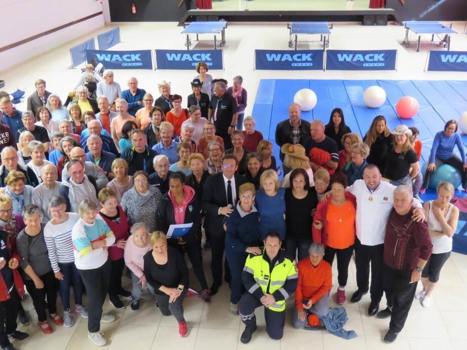 Les ateliers « bien vieillir » ont réuni plus de 150 personnes.