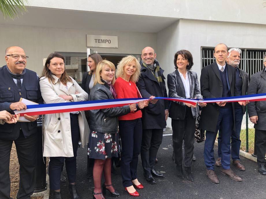 Elus et acteurs du logement ont inauguré la résidence livrée en novembre.
