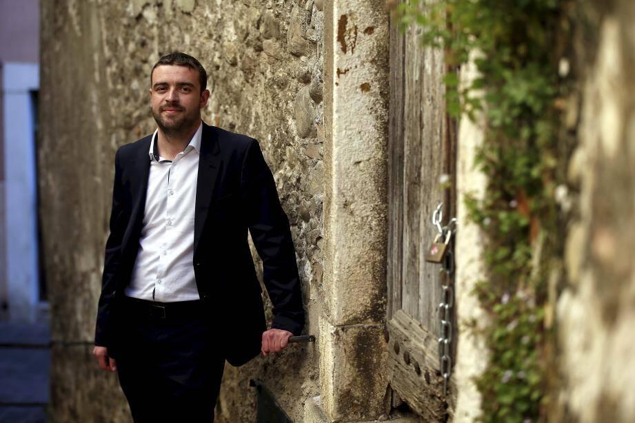 Sébastien Olharan, l'enfant de Breil, veut redorer l'image de son cher village et le rendre plus dynamique.
