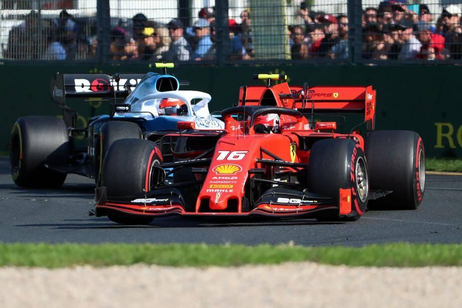Le Monégasque Charles Leclerc termine 5e de son premier Grand Prix sous les couleurs de Ferrari.