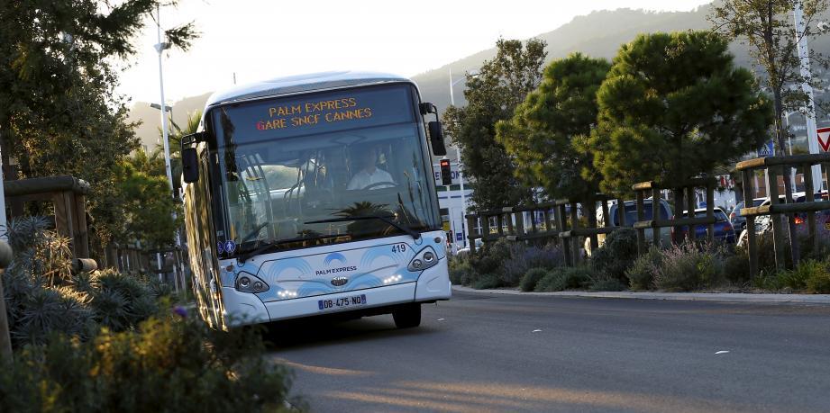 Un bus du réseau Palm Bus.