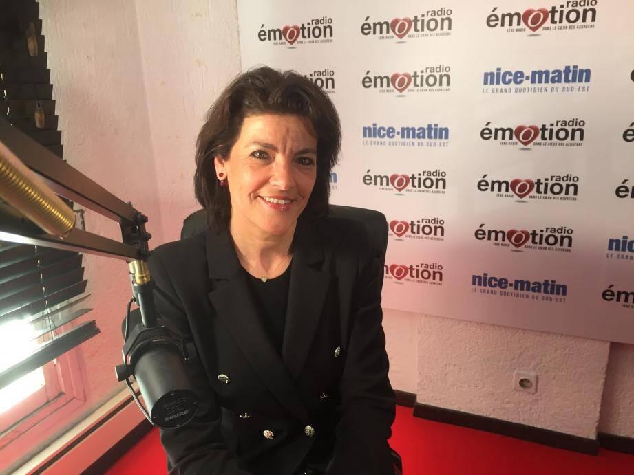 La sénatrice Dominique Estrosi-Sassone siège également au conseil municipal de Nice et à la métropole Nice Côte d'Azur.