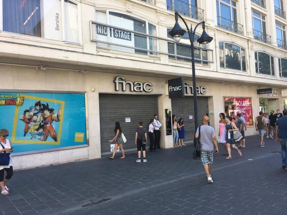 La Fnac de Nice.
