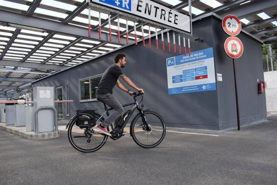 Lors du lancement de « La Bicyclette », le 8octobre, les 23 vélos à assistance électrique disponibles ont été loués... en à peine une heure!