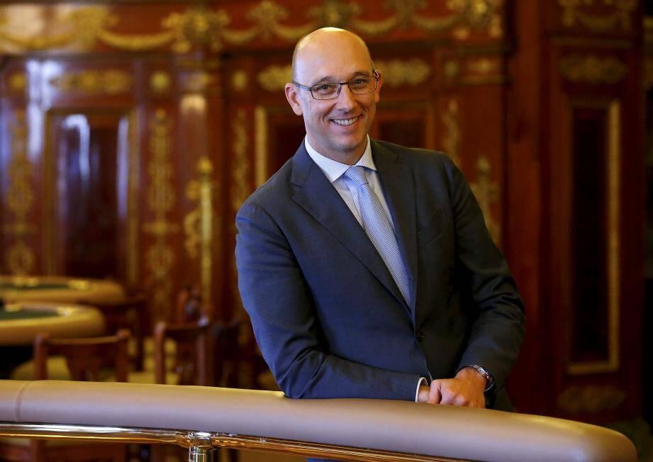 Pascal Camias, directeur des Jeux de la SBM