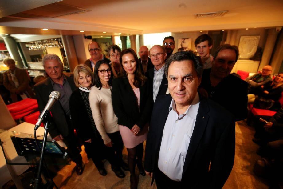 Armand Bisror s'est déclaré candidat à l'élection municipale, jeudi soir, au restaurant Via Cassia.