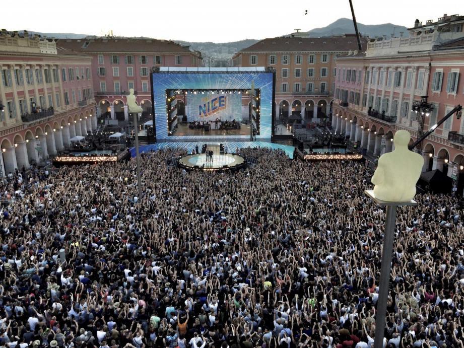 Comme l'an dernier, France 2 organise sa Fête de la musique à Nice.