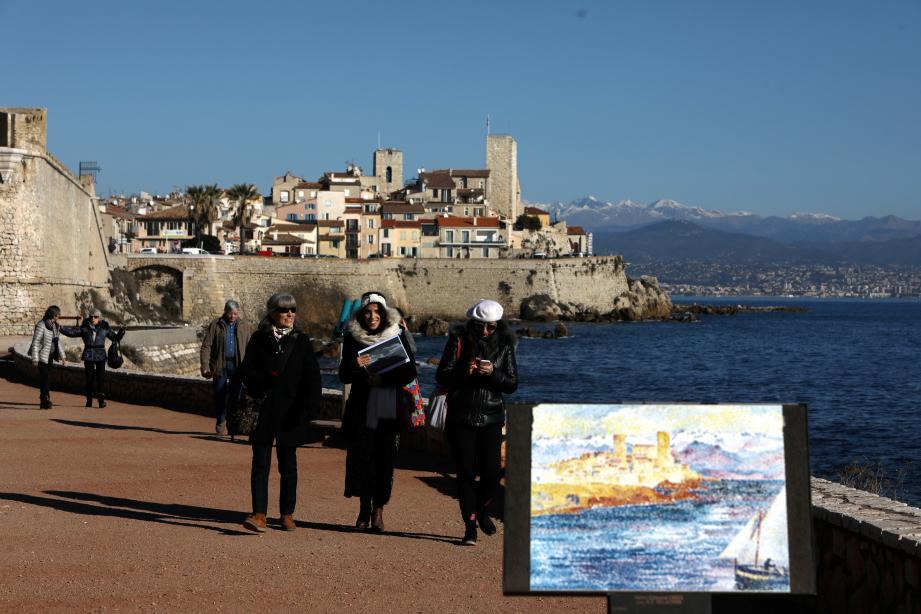 Antibes au fil des peintures de grands maîtres.